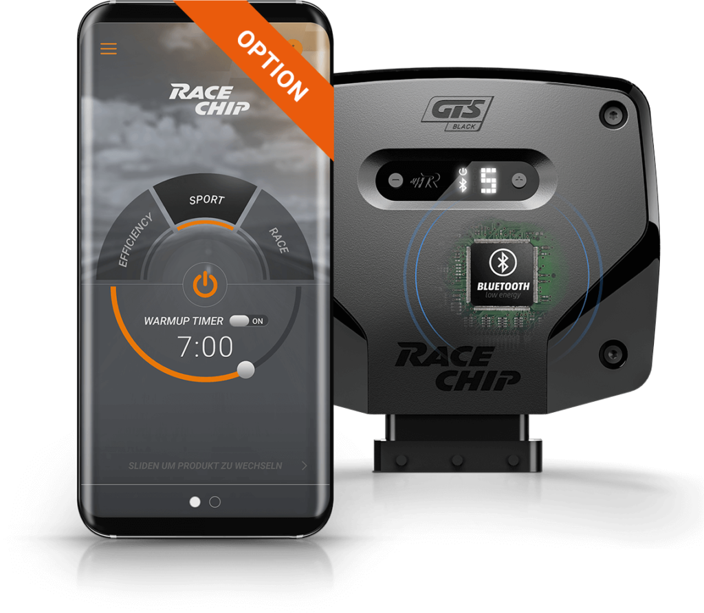 Racechip GTS app besturing