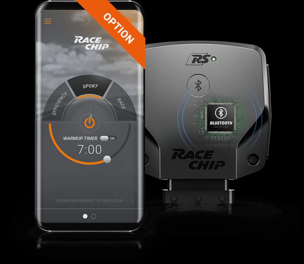 Racechip RS smartphone app besturing