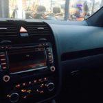 Volkswagen Golf MK5 radioframe