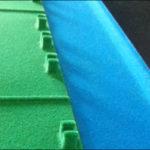 Bestekset koffer inlay 2-tone geflocked